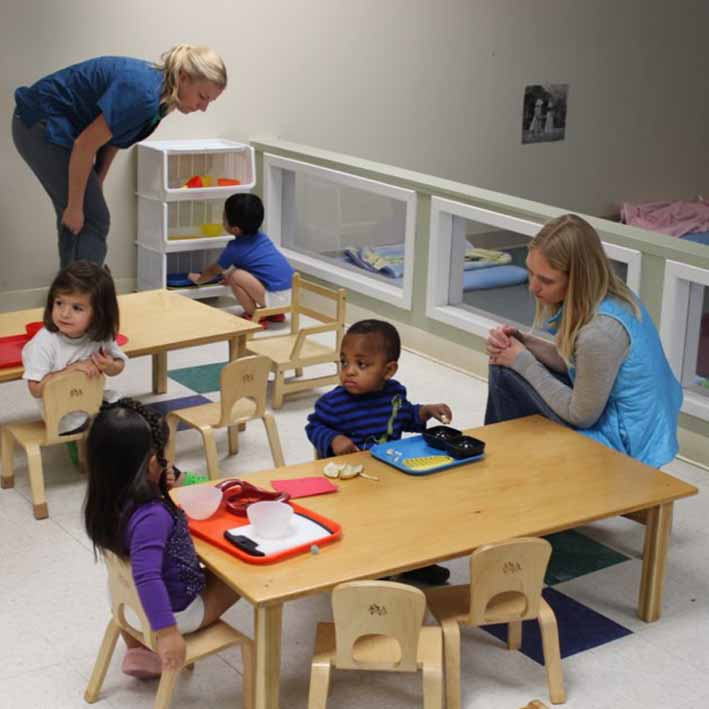 Classe Montessori crèche